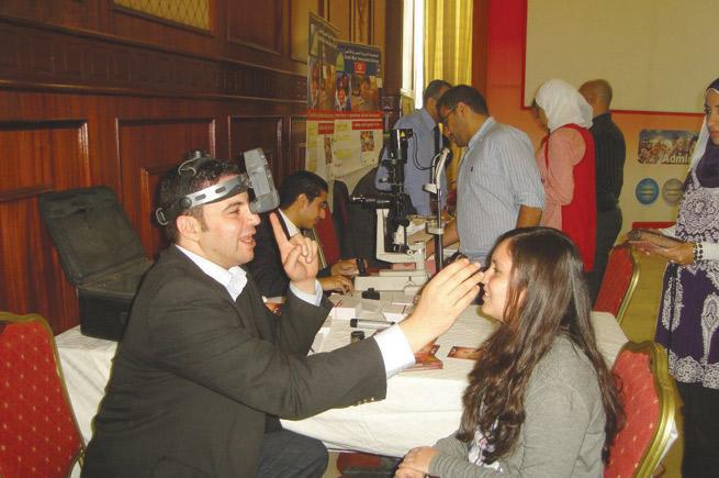 مشاركة مستشفي مغربي فى يوم فودافون الطبي السنوي