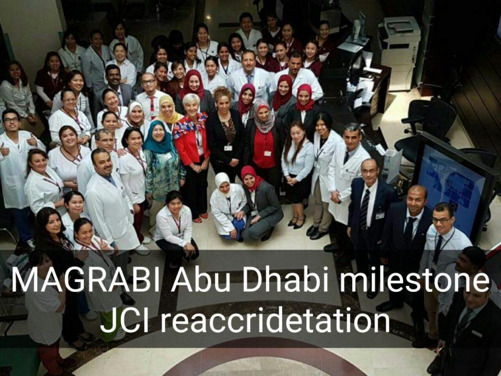 Magrabi(AUH) JCI re-accreditation