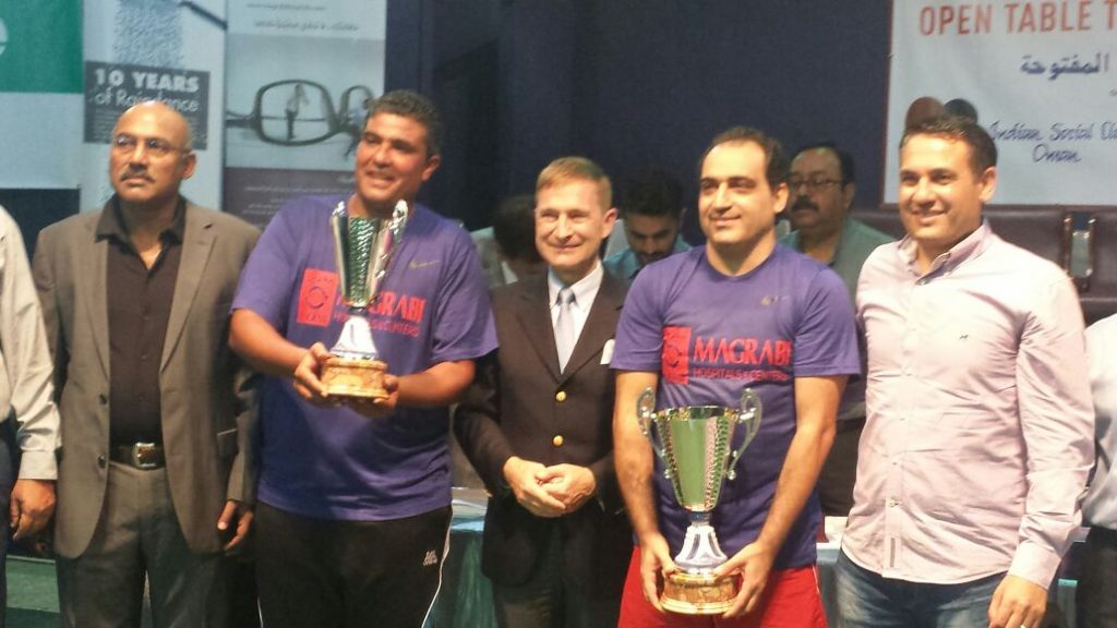 Open Table Tennis Tournament sponsored by Magrabi