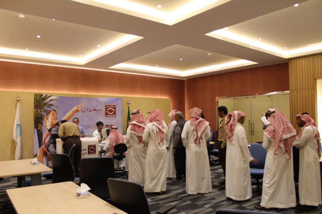 Magrabi checks NWC employees eyesight