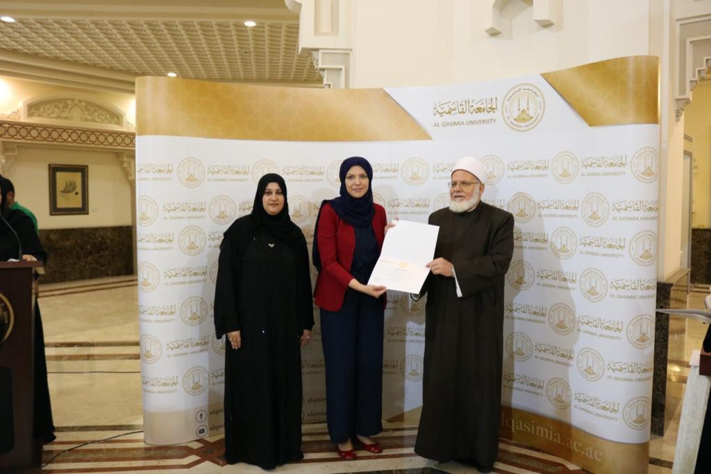 مغربي دبي تفحص نظر طلاب جامعة القاسمية